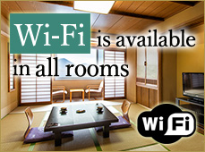 Wi-Fi is available in all rooms